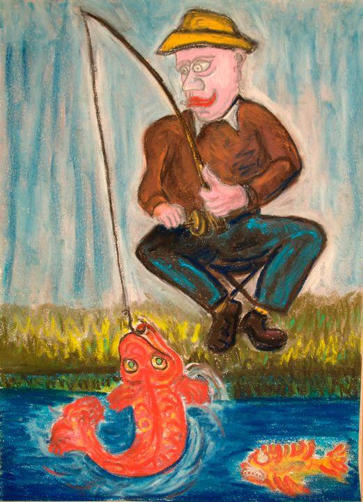 Fisherman Le pêcheur - Mathieu Correa de Sa