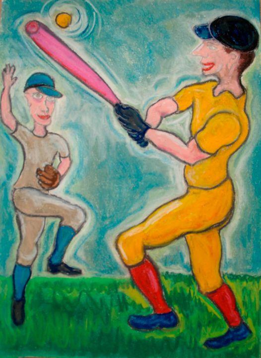 A game of baseball - Mathieu Correa de Sa