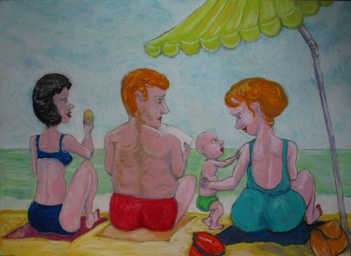 La plage en famille Le Touquet - Mathieu Correa de Sa