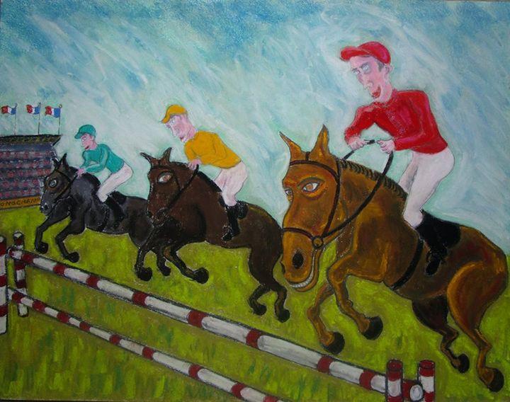 Paris: course de chevaux horse race - Mathieu Correa de Sa