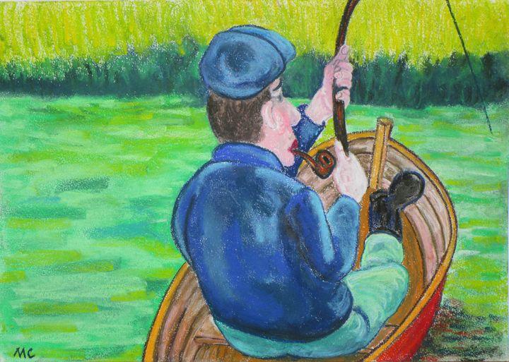 La barque du pêcheur - Mathieu Correa de Sa