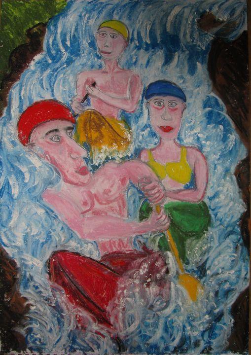 Kayak Gorges du Verdon - Mathieu Correa de Sa
