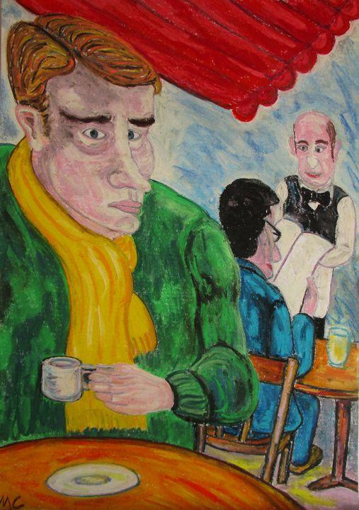 Un petit café à Paris - Mathieu Correa de Sa