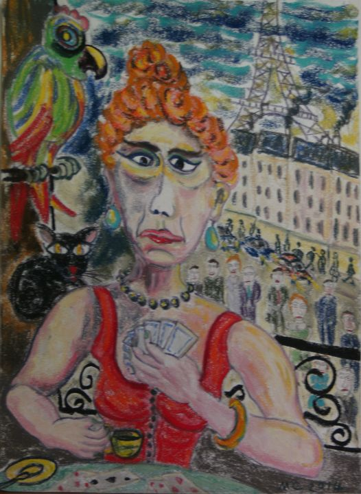 The fortune teller in Paris - Mathieu Correa de Sa