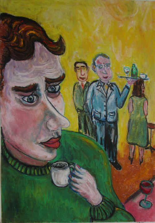 Café express le matin au bistrot - Mathieu Correa de Sa