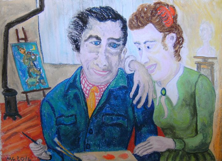 Marc Chagall and his wife - Mathieu Correa de Sa