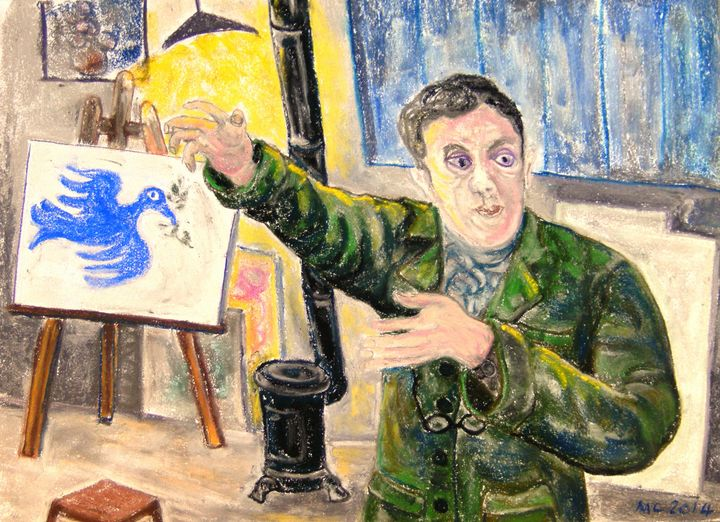 Georges Braque à la colombe - Mathieu Correa de Sa