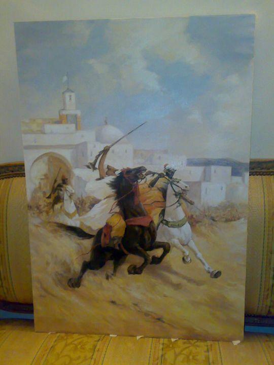 Approach of Knights - Rasha Selim