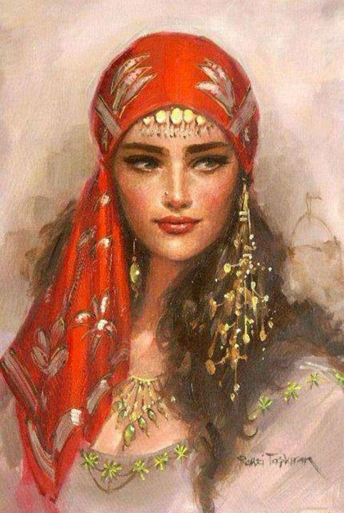 Egyptian Portrait - Rasha Selim