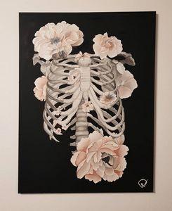Flowery ribs