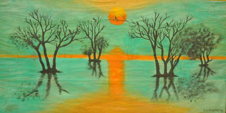 """ The Reflection"" - PASU ARTS"