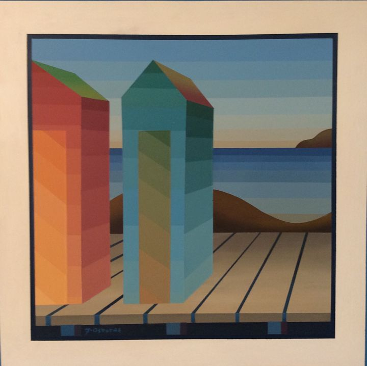 Colour house series 1 - Earth art Canada gallery