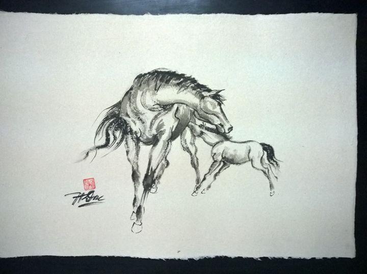 Horses - Tran Huy Duc - Horse Art