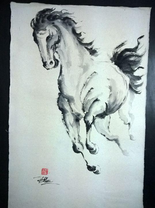 Horse - Tran Huy Duc - Horse Art