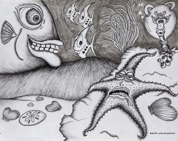 Under The Sea - kmg illustrations