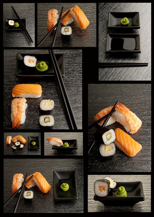 A Set of Variety Sushi - avuc