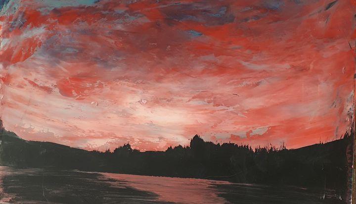 Sunset - Caoyun Zhan
