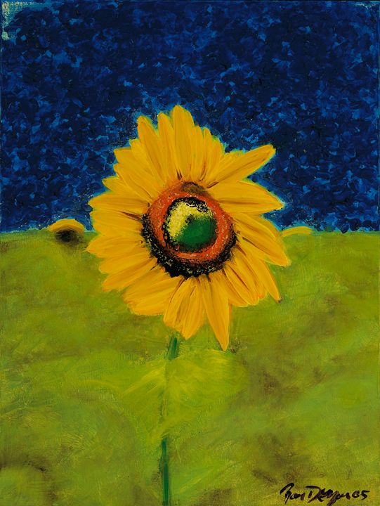 Sunflower in Tuscany - Ron DeMore