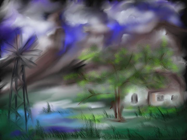 Storm - Vanesse purves art gallery