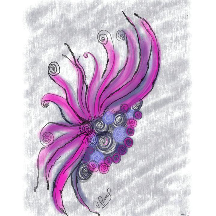 Pink fantasy - Vanesse purves art gallery