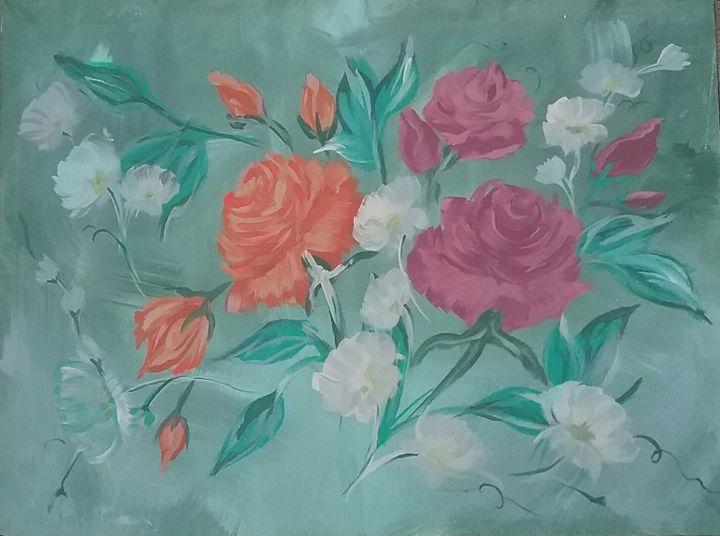 rose fantasy - Vanesse purves art gallery