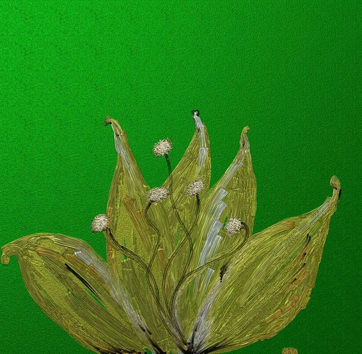 Yellow flower - Vanesse purves art gallery