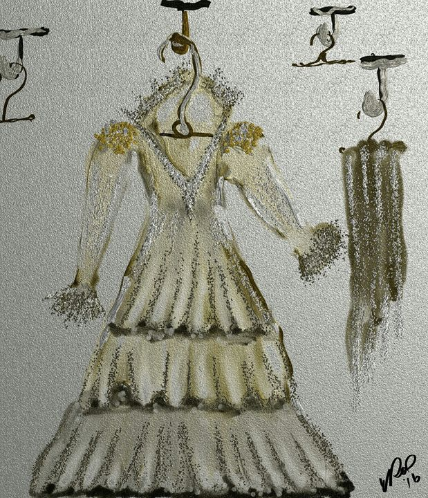 Antique dress - Vanesse purves art gallery