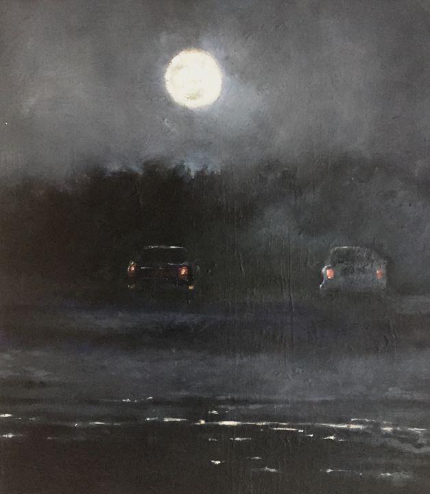 Full moon on South Cape - Shaun Carvelli
