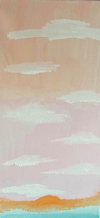 Acrylic Abstract by Jaydee - Hallie's Creations
