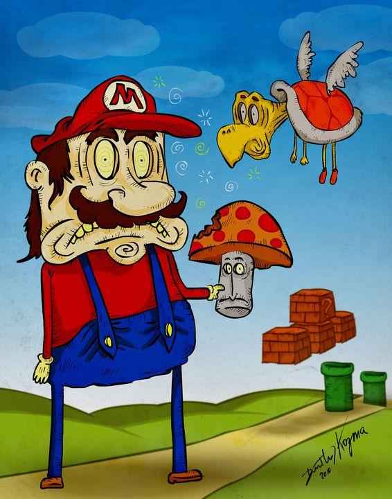 Freaky Mario - Dimitri Kozma