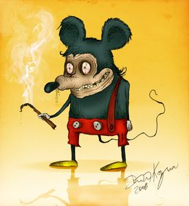 Freaky Mickey Mouse