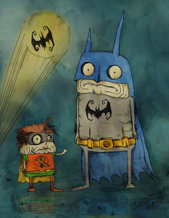 Freaky Batman & Robin - Dimitri Kozma