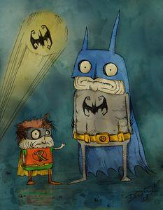 Freaky Batman & Robin