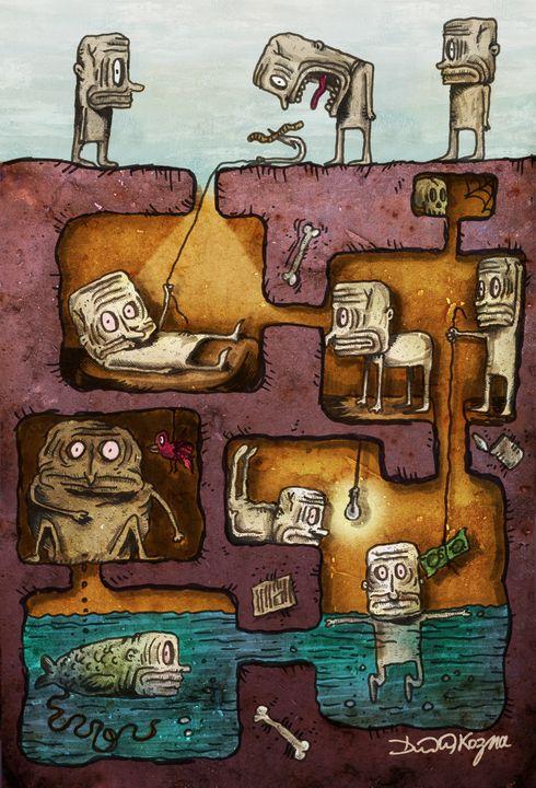 The Underground - Dimitri Kozma