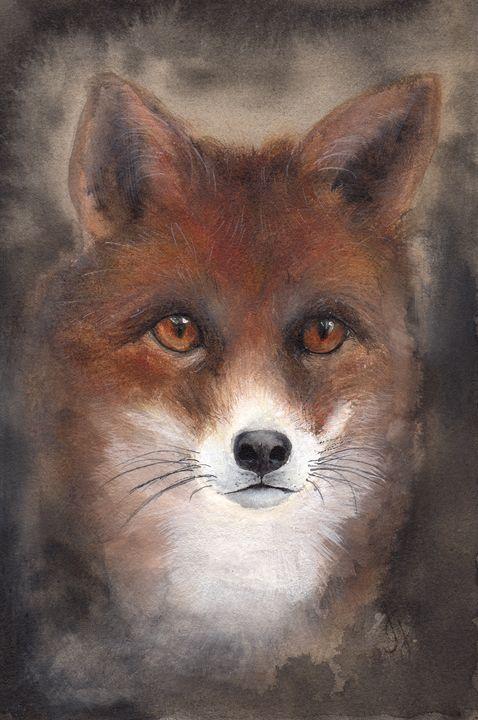 Fox - Julia Gareeva Art
