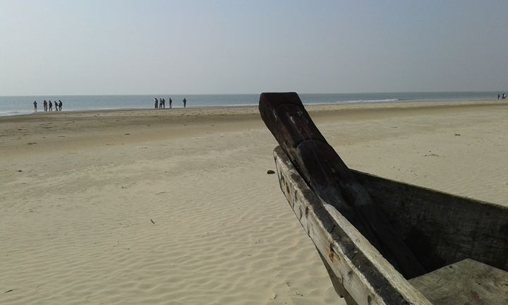 Sea Beach digha - art show