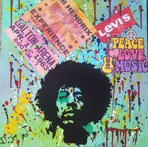 27 Forever Club. Jimi Hendrix