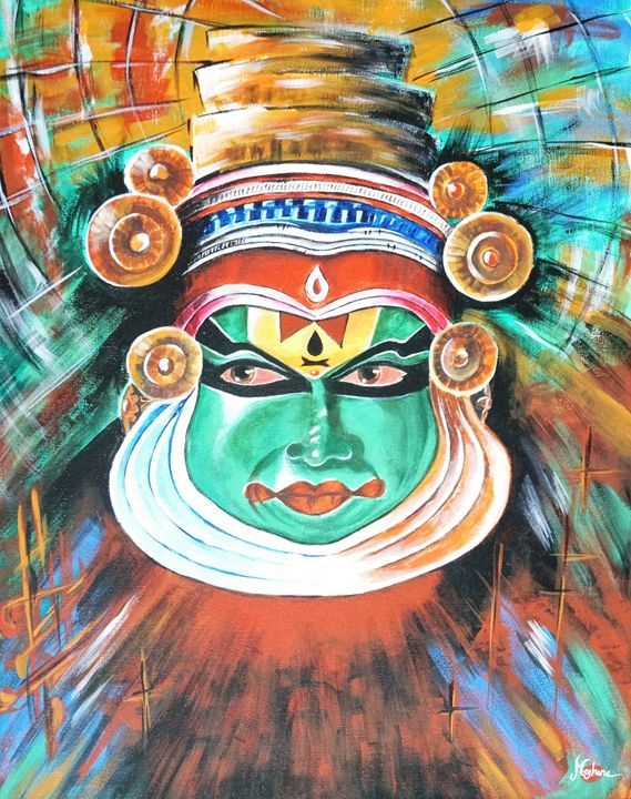 Kathakali - LLLPaint