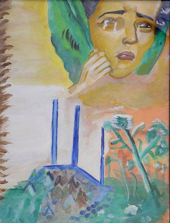 Sad and hope - minds off art !