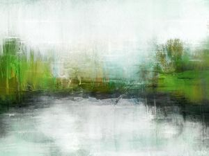Abstract Painting - Quiet Waters