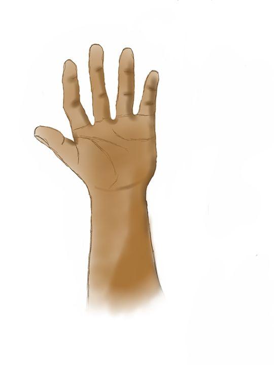 Hand - E.g. Doodle art