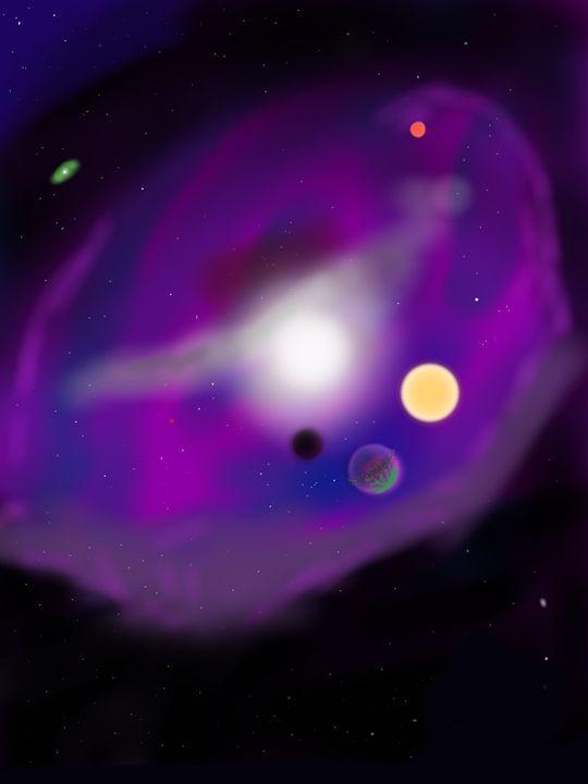 Galaxy - E.g. Doodle art