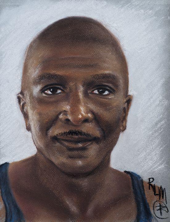 Ronnie Melvin, self-portrait - Ronnie L Melvin