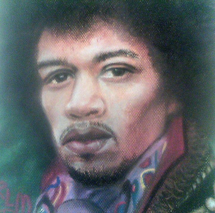Jimi Hendrix - Ronnie L Melvin
