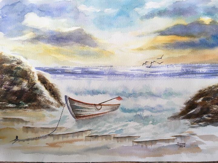 Sea & boat 2 - suwan