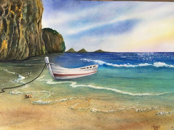 sea & boat 1 - suwan