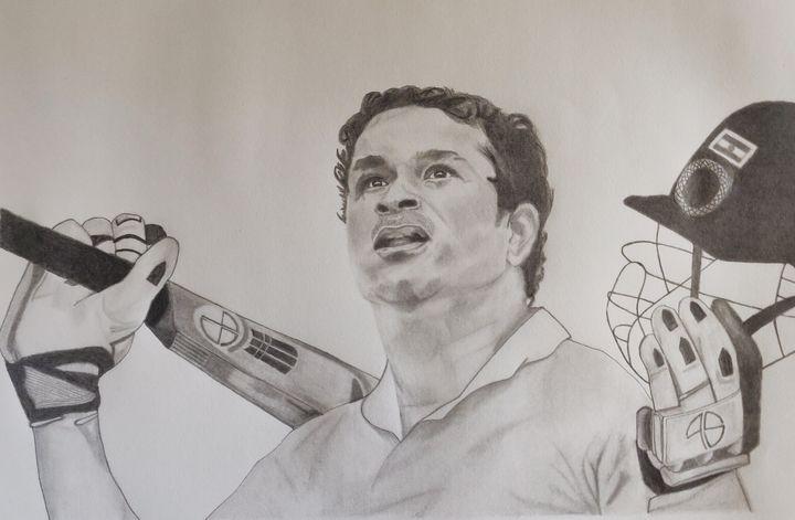 The God of Cricket - Scribble ur Soul