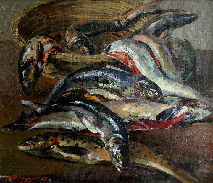 Trout Fish - Hrant Stepanyan