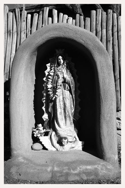 madonna shrine, talpa, new mexico - Mark Goebel Photo Gallery