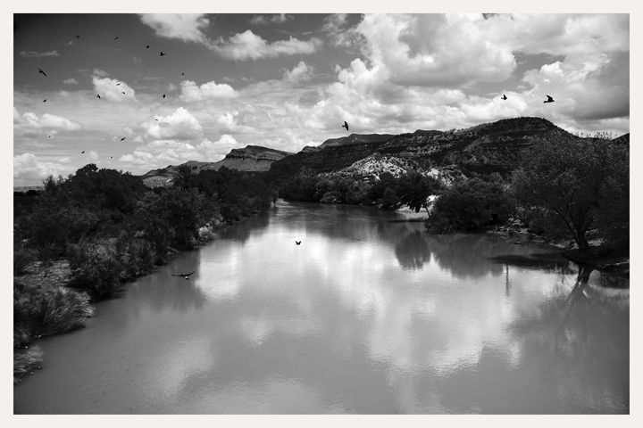 Rio Grande River at Percha Dam State - Mark Goebel Photo Gallery